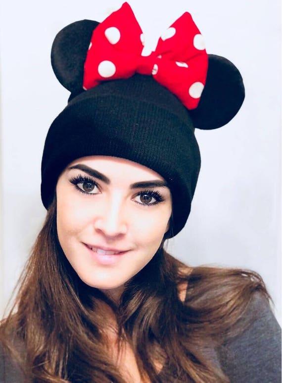 Plafond de Minnie ! et Mickey Mouse bonnet avec oreilles