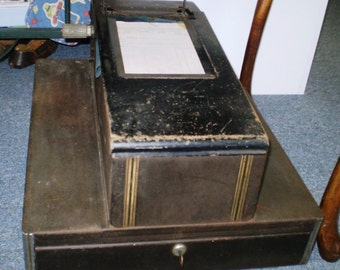 Early 1900's Standard Cash Register  with Tear Off Receipts