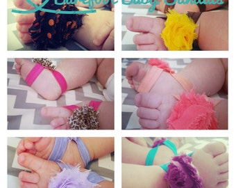 Pick your colors barefoot sandals, dress up sandal,special occasion sandal, 20+ colors to choose from