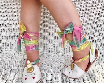 d9573fd8439e Unicorn shoes for girls