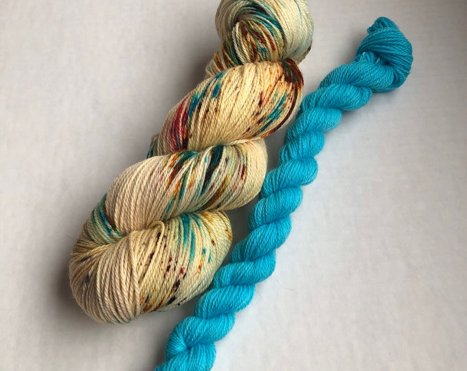 Sock Yarn Set, sock yarn, mini skeins, wool nylon yarn, wool yarn, fingering yarn, yarn, sock set, sock knitting