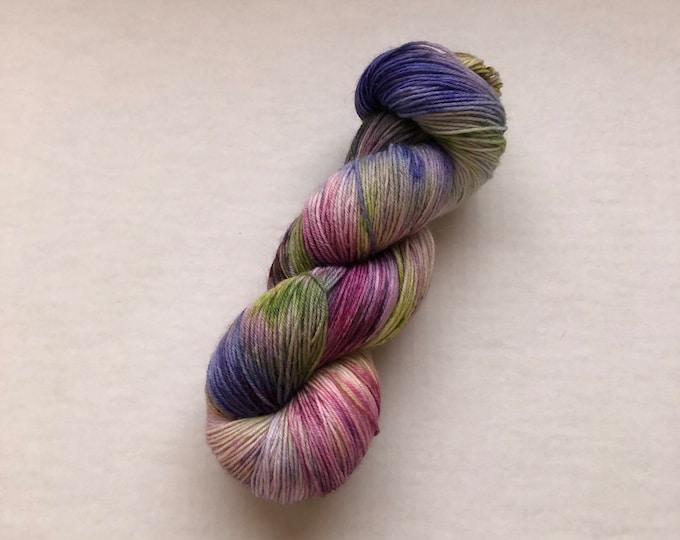 Hand Dyed Fingering Yarn, yarn, sock yarn, shawl yarn, sweater yarn, hand dyed yarn, wool yarn, wool nylon yarn, speckled yarn