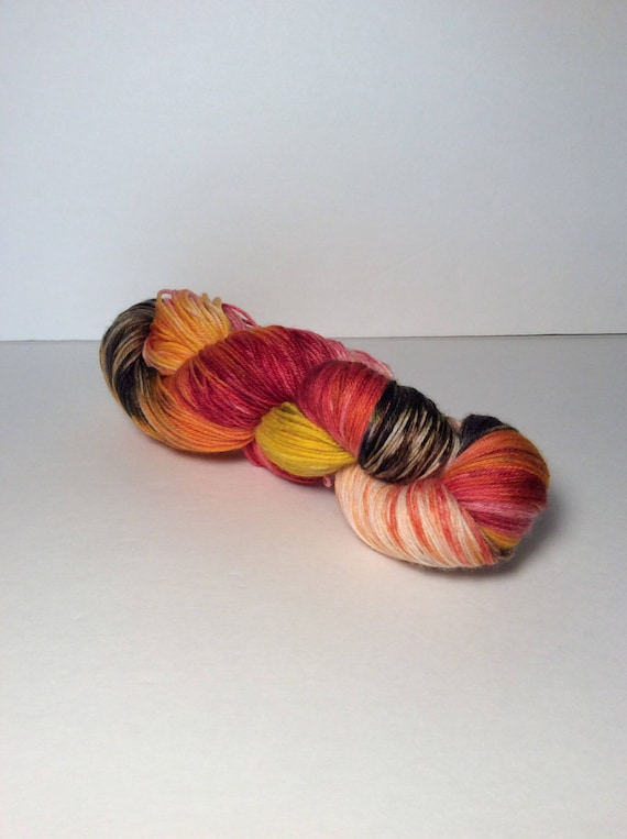 Hand Dyed Fingering Yarn Inspired by Game of Thrones