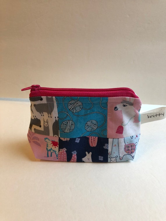Patchwork Notion Pouch