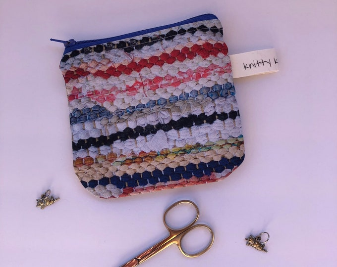 Notion Pouch, fabric pouch, coin pouch, pouch