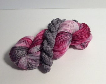 Sock Yarn Set, sock set, sock yarn, yarn, mini skeins, wool yarn, wool nylon yarn, shawl yarn, hand dyed yarn