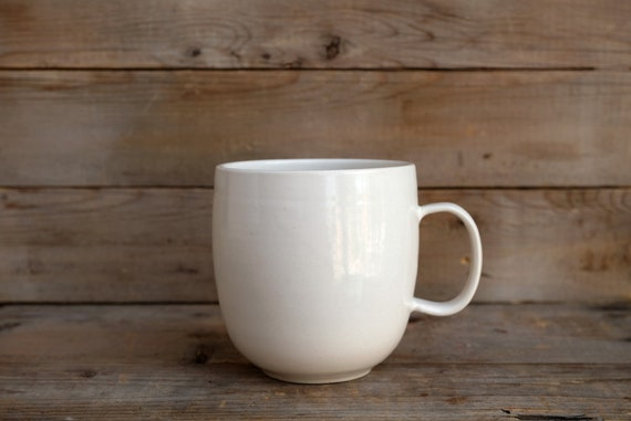 Handmade Porcelain coffee mug