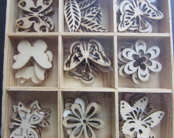 Wooden Garden Card Toppers