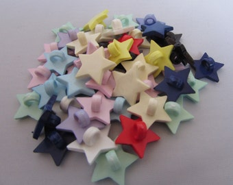 Assorted Star Buttons