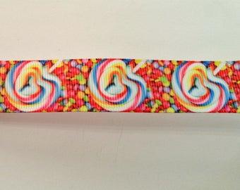 Christmas Candy Ribbon -  - Crafting - Scrapbooking - 1 Yard