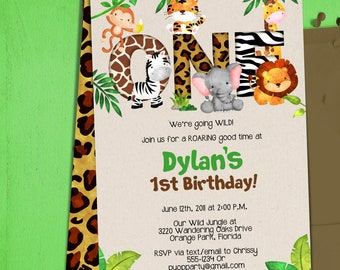 Baby shower. Jungle animal baby shower: baby animal clipart baby.