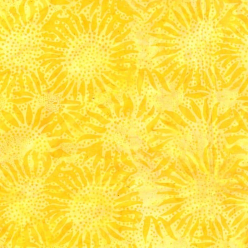 sold by various lengths Hoffman Batik 884-149 Sun