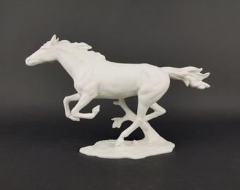 VERY Rare Vintage AK KAISER Galopping Horse Figurine by Gerhard Bochmann #
