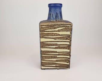 Scheurich rectangular Fat Lava vase