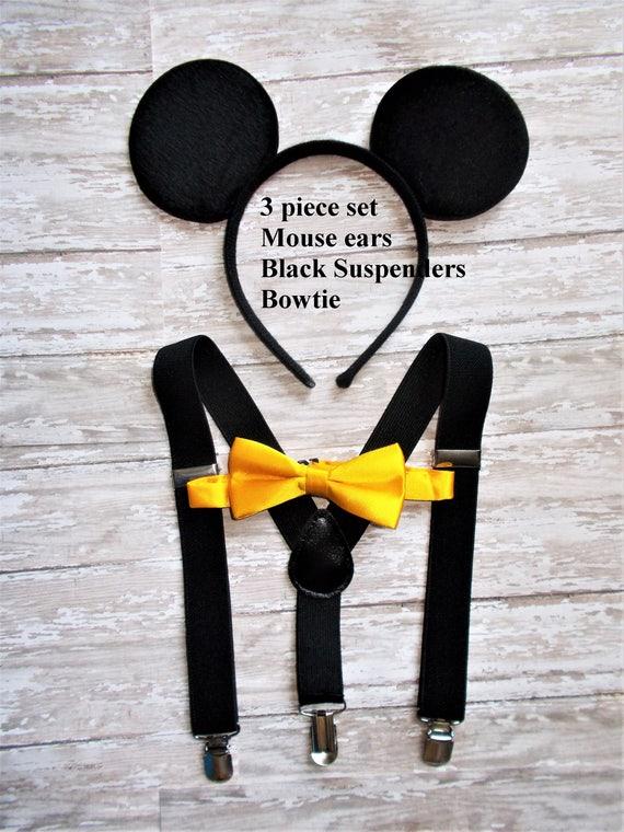 Mickey Mouse Halloween Costume Birthday Cake Smash Ears Etsy