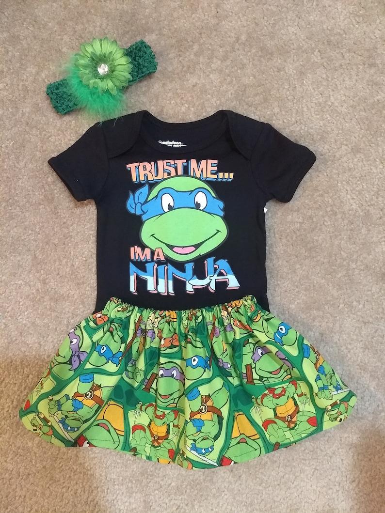 TMNT costume baby shirt bodysuit
