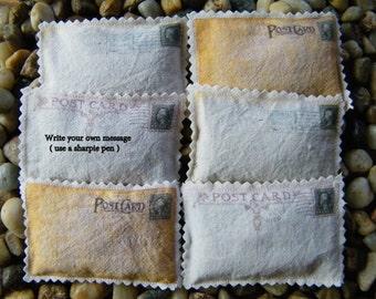 Lavender Sachets Vintage Post Card Prints Write your own message