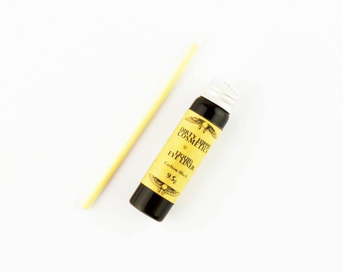 Liquid Eye Liner Matte • Toxin FREE • ZERO WASTE • Aloe Vera, Vitamin E, Coconut Nectar, Jojoba Oil, Castor Oil  • 9.5g