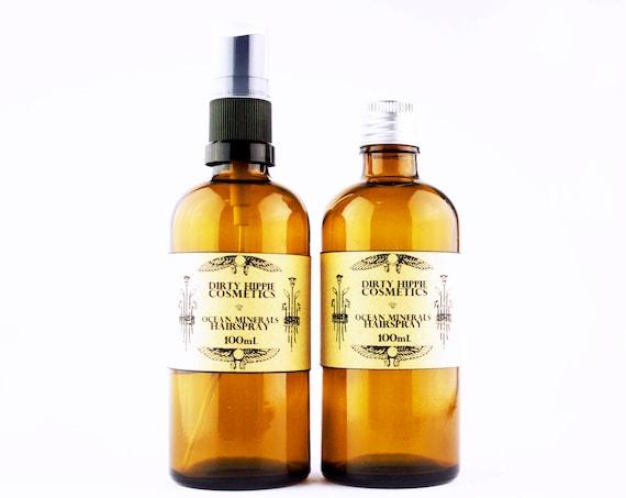 Ocean Minerals Beach Hair Spray • VOLUMISING and NOURISHING • Orange Floral Hydrosol and Argan oil • 100mL