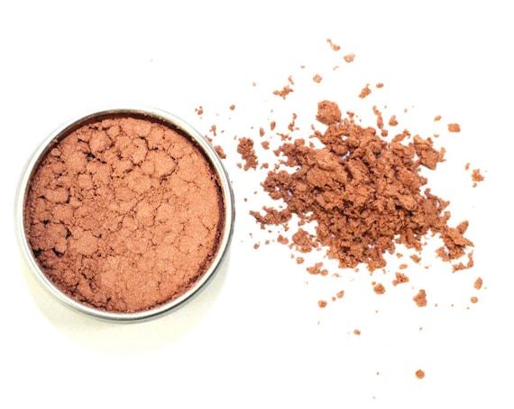 Bronzed-Rose Contouring • Loose Powder • ZERO WASTE • Argiletz Clay, Rose Petal Powder, Light Shimmering Bronze Mica • 8g