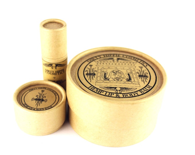 Hemp Lip and Body Balm • ZERO WASTE • Toxin Free and Ultra Nourishing • 12g/14g/115g