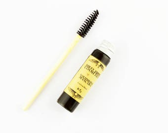 Volumising Mineral Mascara • Toxin FREE • ZERO WASTE • Vitamin B5, Vitamin E, Seaweed, Colloidal Oats, Jojoba Oil, Castor Oil  • 8.5g