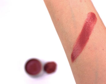 Mineral Lipstick Pots • Nourishing Cocoa Butter, Avocado Oil, Castor Oil, Jojoba Esters • Coral Crush, Dusty Rose & Terra Firma • 15g