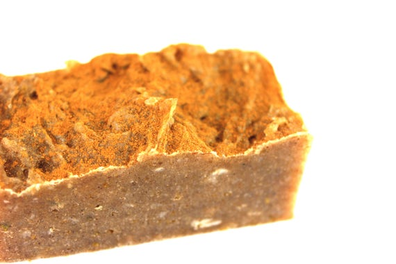 Soothing Shaving Soap and Beard Bar • ZERO WASTE • Neem, Hops, Cinnamon • 110g