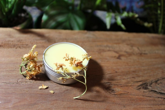 Solid Aromatherapy Perfume Balms •  ZERO WASTE • Alcohol, Toxin and Cruelty Free, 100% Pure Essential Oils •  22g