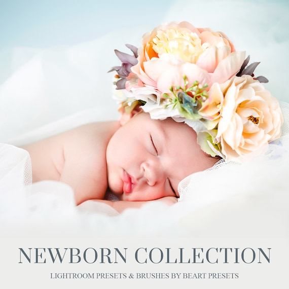 Newborn lightroom presets portrait photography newborn