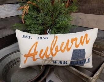 Hometown Auburn University Pillow