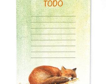 Notepad Fox, Todo