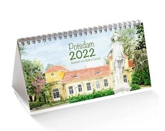 Table Calendar Potsdam 2022, Constellation Calendar