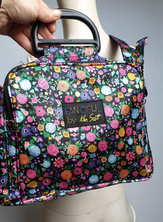 Vintage Ken Scott shoulder bag tag with logo Fanci