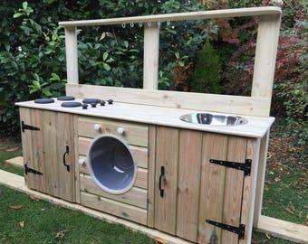 rustikale wein und glas tr ger aus holz picknick caddy etsy. Black Bedroom Furniture Sets. Home Design Ideas