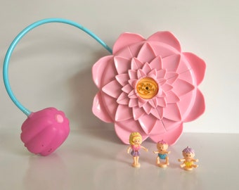 Vintage Bluebird Mattel Polly Pocket Polly/'s Secret Garden Garden Surprise Keepsake Classic Collection Pink Flower Compact Complete Original