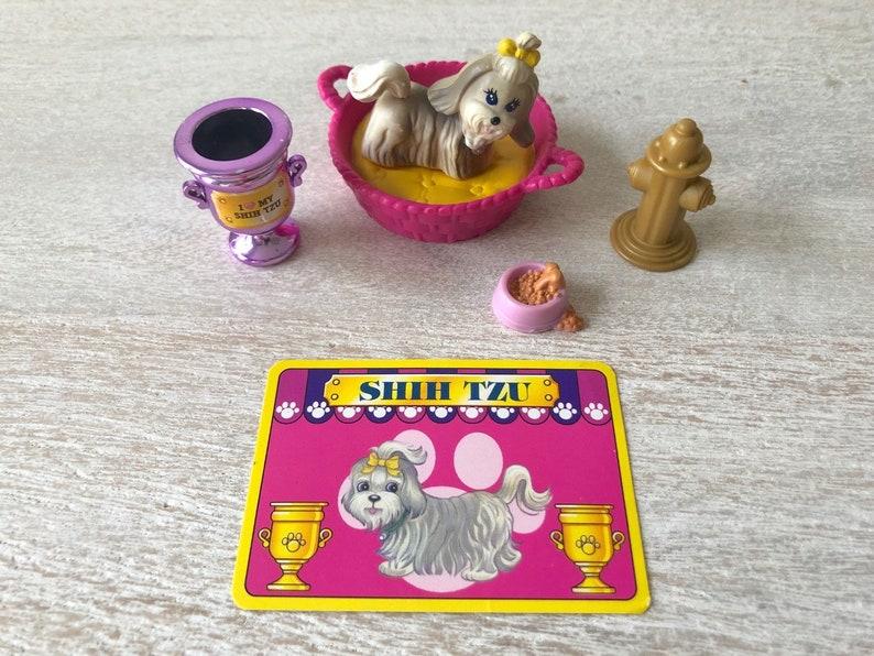 Vintage Littlest Pet Shop Shih Tzu Dog Kenner Lps Etsy
