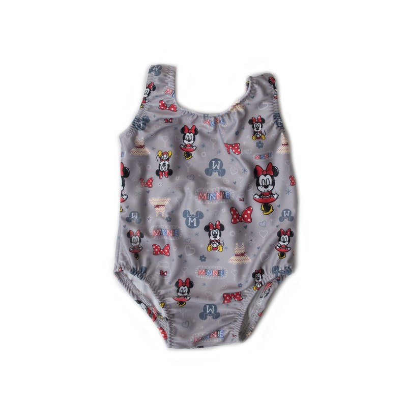 e8cdea463dc Minnie Mouse Doodles One Piece Swimsuit Disney Mickey Mouse   Etsy
