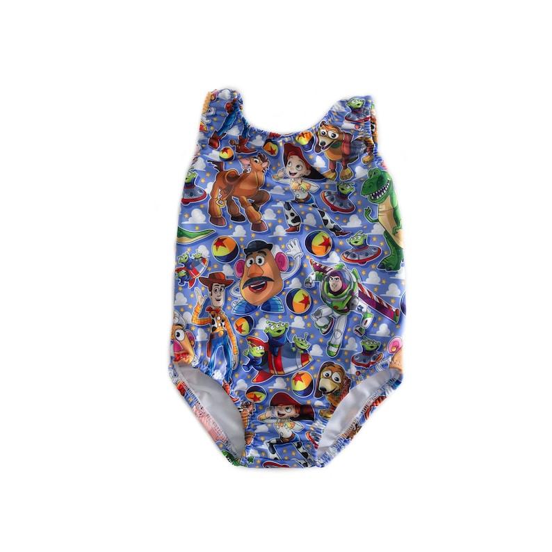 Disney Buzz Lightyear Woody Toy Story One Piece Swimsuit
