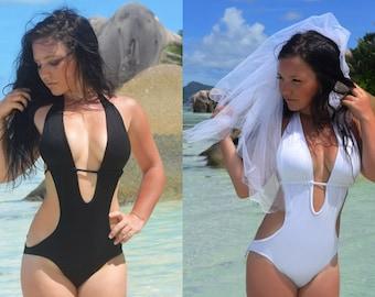 One piece swimsuits  / Monokini swimsuit padded - one piece swimwear