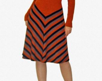 Retro Knit Dress