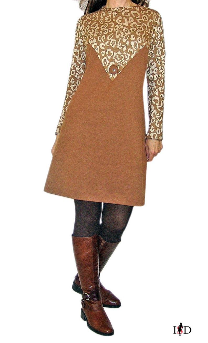 Business Dress Leopard