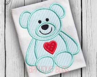 Teddy bear embroidered iron sew on patch applique badge ebay