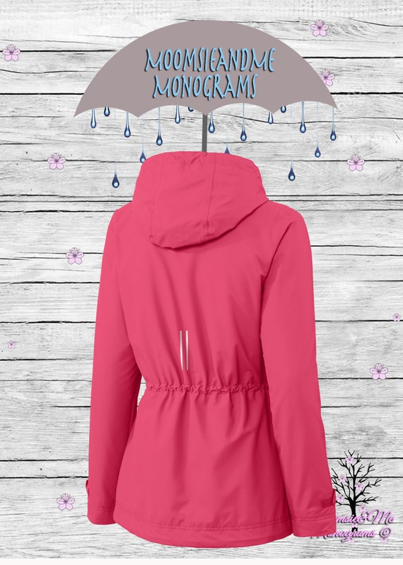 Our plus size rain jacket is perfect for multi season