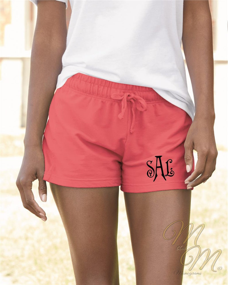 e139ab2e15ee4 Comfort Colors Ladies French Terry Shorts Custom Shorts