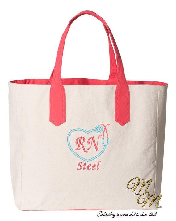 Nurse Tote Bag Nurse Totes Nurse Accessories Nurse Apparel Etsy