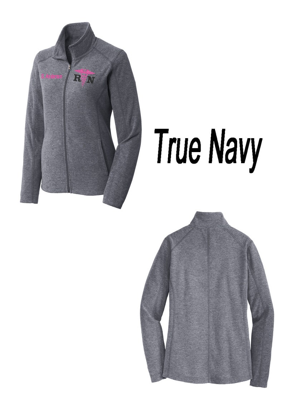 Personalized Apparel 4 Nurse Jacket RN Full Zip