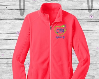 CNA Jacket, RN, LPN, Personalized Gift 3