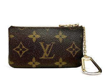 1f521a43de0 Louis Vuitton Vintage Monogram Authentic Key Coin Pouch Pochete Cles Purse  One Owner