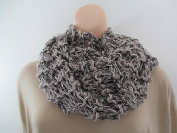 Stricken Wolle Schal Grobstrick stricken Schal Kreis Winter | Etsy